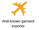 well-known garment exporter
